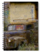Grungy Vintage Ford Panel Truck Spiral Notebook