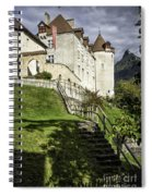 Gruyeres Castle Spiral Notebook