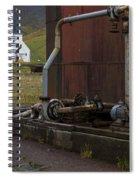 Grytviken, South Georgia Spiral Notebook