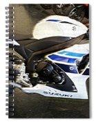 Gsxr1000 In Motion Spiral Notebook