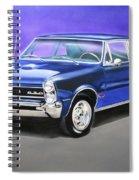 Gto 1965 Spiral Notebook