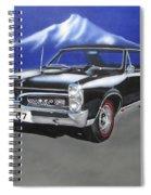 Gto 1967 Spiral Notebook