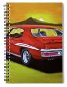 Gto 1971 Spiral Notebook