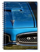Gto In Blue Spiral Notebook