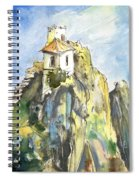 Guadalest 04 Spiral Notebook