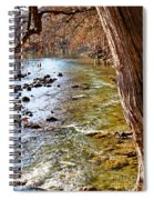 Guadalupe River View Spiral Notebook