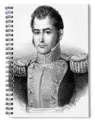 Guadalupe Victoria (1789-1843) Spiral Notebook