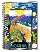 Guam Spiral Notebook