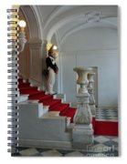 Guard At Catherine Palace In Russia Spiral Notebook