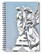 Guardian Angels 2 Spiral Notebook