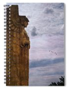 Guardian Of Hope Spiral Notebook