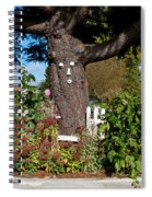 Guardian Of The Flowers Spiral Notebook