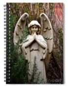 Guardian Of The Garden Spiral Notebook