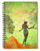Guardian Of The Oasis Spiral Notebook