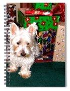 Guarding Christmas Spiral Notebook