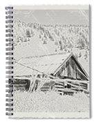 Guarding Grandpa's Cabin Spiral Notebook