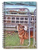 Guarding The Ford Spiral Notebook