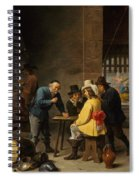 Guardroom With The Deliverance Of Saint Peter Spiral Notebook