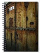 Guatemala Door 2 Spiral Notebook