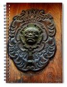Guatemala Door Decor 1 Spiral Notebook