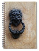 Guatemala Door Decor 2 Spiral Notebook