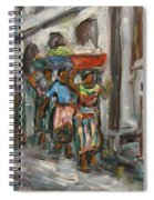 Guatemala Impression V - Left Hand 1 Spiral Notebook