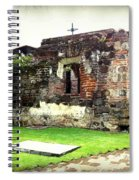 Guatemalan Church Courtyard Ruins Spiral Notebook