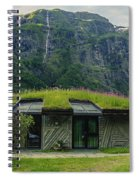 Gudvangen Norway Style Sunroof Spiral Notebook