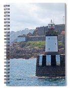 Guernsey Lighthouse Spiral Notebook