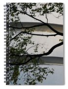Guggenheim And Trees Spiral Notebook