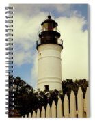 Guiding Light Of Key West Spiral Notebook