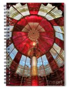 Guiding Red Spiral Notebook