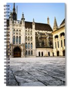 Guildhall Building And Art Gallery Spiral Notebook