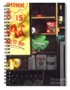 Guiness In The Window Spiral Notebook