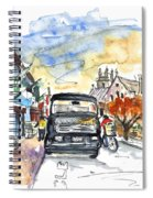 Guinness Delivery In Howth Spiral Notebook