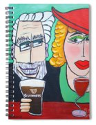 Guinness Man With The Woman Of His Dreams Spiral Notebook