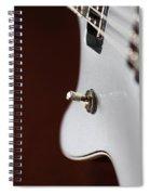 Guitar Abstract Spiral Notebook