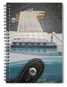 Guitar Art Spiral Notebook