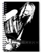 Fender Guitar Girl  Spiral Notebook
