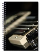 Guitar Glance Spiral Notebook