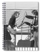 Guitar Interplay At The Day On The Green 6-6-76 Spiral Notebook