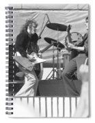 Guitar Jam At Day On The Green In Oakland 1976 Spiral Notebook