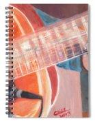 Guitar Music Spiral Notebook