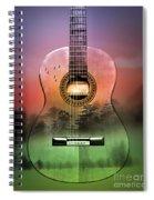 Guitar Nature  Spiral Notebook
