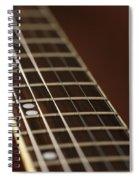 Guitar Neck Spiral Notebook