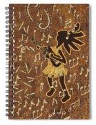 Guitar Player Spiral Notebook
