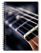 Guitar Strings Spiral Notebook