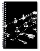 Guitar Ventura Head Stock 1 Spiral Notebook