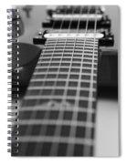 Guitar View Spiral Notebook