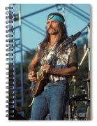 Guitarist Dickie Betts Spiral Notebook
